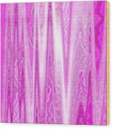 Moveonart Pink Dream Frequency Wood Print