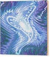 Moveonart Refreshing Heart 1 Wood Print