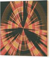 Moveonart Spiritual Radar Wood Print