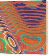 Moveonart Spontaneous Abstract 1 Wood Print