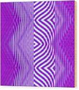 Moveonart Texture The Future 1 Wood Print