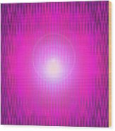Moveonart The Power Being Pink Wood Print