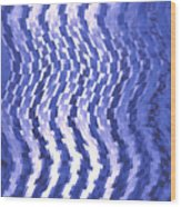 Moveonart Urban Waves 2 Wood Print