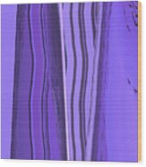 Moveonart Violet Moment 1 Wood Print