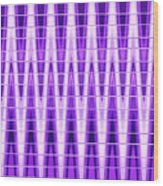Moveonart Violet Vibes Wood Print