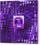 Moveonart Visualtherapytime03apr Wood Print