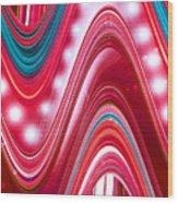 Moveonart Wave Of Enlightenment Three Wood Print