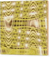 Moveonart Waves Of Blessings And Light 1 Wood Print