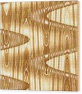 Moveonart Waves Of Enlightenment 2 Wood Print
