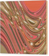 Moveonart Waves Of Interpretation Wood Print