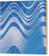 Moveonart Waves Of Redemption 1 Wood Print