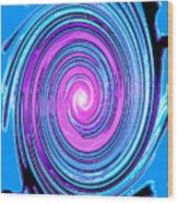 Moveonart Waves Of Renewal I Wood Print