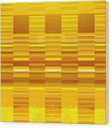 Moveonart Yellow Program Six Wood Print