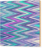 Moveonart Zig Zag Therapy One Wood Print