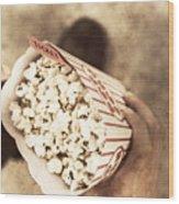 Movie Nostalgia Wood Print