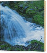 Moving Water Can Move Your Soul Wood Print
