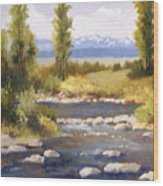 Moyie River Wood Print