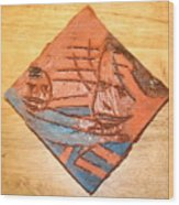 Mpeeka - Tile Wood Print