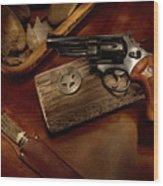 Mr. 357 Wood Print