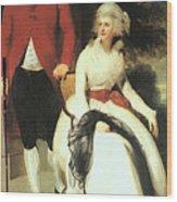 Mr And Mrs John Julius Angerstein  Wood Print