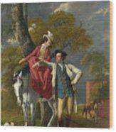 Mr And Mrs Thomas Coltman Wood Print
