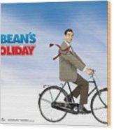 Mr. Bean Wood Print