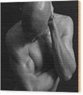 Mr Gym Bnw Wood Print