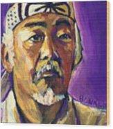 Mr Miyagi Wood Print
