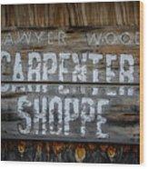 Mr. Sawyer Wood Wood Print