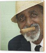 Mr Trinidad  Wood Print