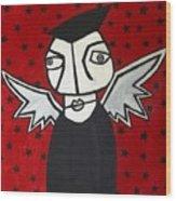 Mr.creepy Wood Print by Thomas Valentine