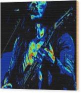 Mrmt #73 Enhanced In Cosmicolors Wood Print