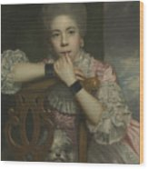 Mrs Abington As Miss Prue In Love For Love By William Congreve Wood Print