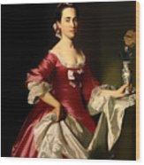Mrs George Watson Wood Print