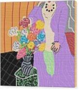 Mrs. Matisse Wood Print