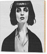 Mrs Mia Wallace Wood Print