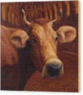 Mrs. O'leary's Cow Wood Print
