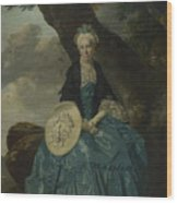 Mrs Oswald Wood Print