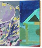 Mrs Patterson S Tea Cup 6246 Wood Print