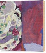 Mrs Patterson S Tea Cup 6254 Wood Print