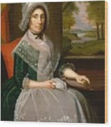 Mrs Richard Alsop 1792 Wood Print
