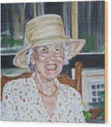 Mrs Spencer Wood Print
