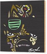Mr.west Wood Print