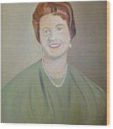 Ms. Bryant Wood Print