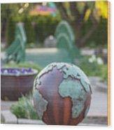 Msu Spring 6 Wood Print