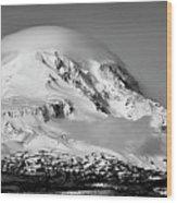 Mt Adams Wood Print