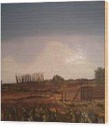 Mt. Ararat Wood Print