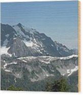 Mt Baker Wood Print