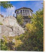 Mt. Cammerer Observation Tower Wood Print