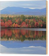 Mt. Chocorua Reflections I Wood Print